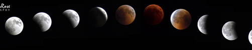Total Lunar Eclipse 27-28 July 2018 by BlueLunarRose