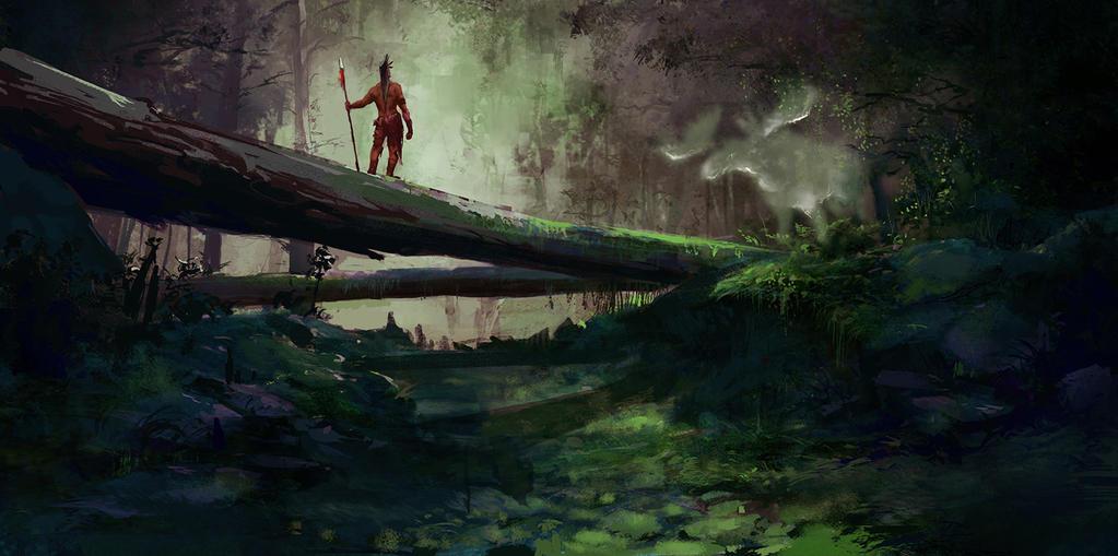 Forest Spirit by nimrohil