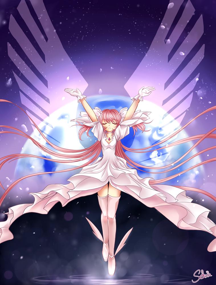 birth of a goddess by MiyaSekaia