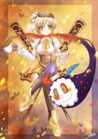 Yellow Final - Tomoe Mami by MiyaSekaia