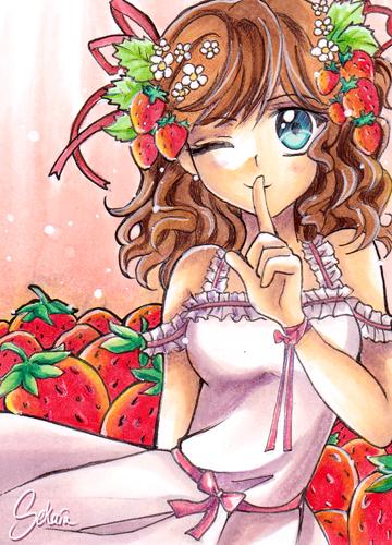 Strawberries by Sekaia