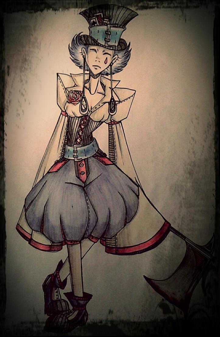 Mad clown by Alicespirit