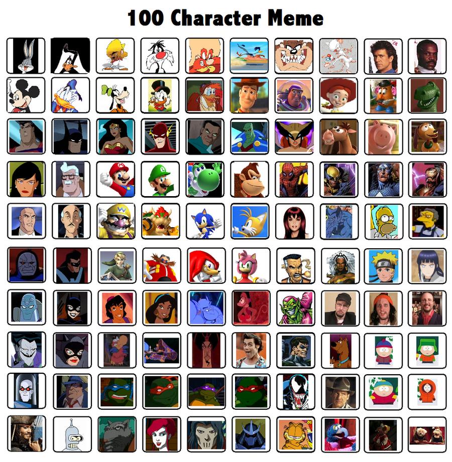 Funniest Meme Characters : Character meme by essteka on deviantart