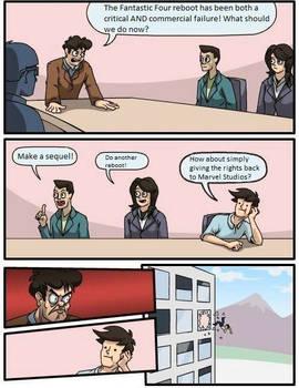 Boardroom Suggestion: Fantastic Four Reboot