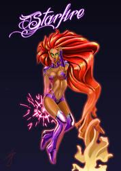 Starfire by Zolaris