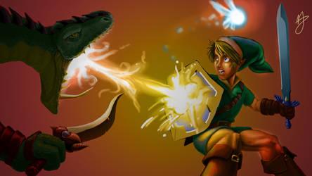 Dinalfo vs Link by Zolaris