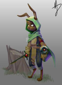 Gomez the bunny battlemage