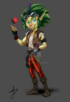 RPG Character, Gnome engineer