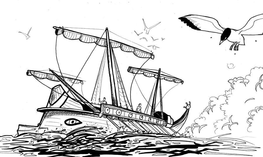 Navire romain