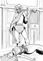 Batman Ancient Times - Mortiferae Nugae final by Mercvtio