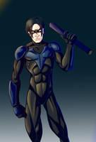 Nightwing by Mercvtio
