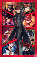 Persona 5 Party by CroissLimeCafe