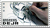 Andreas Deja stamp by ParsleyDenize