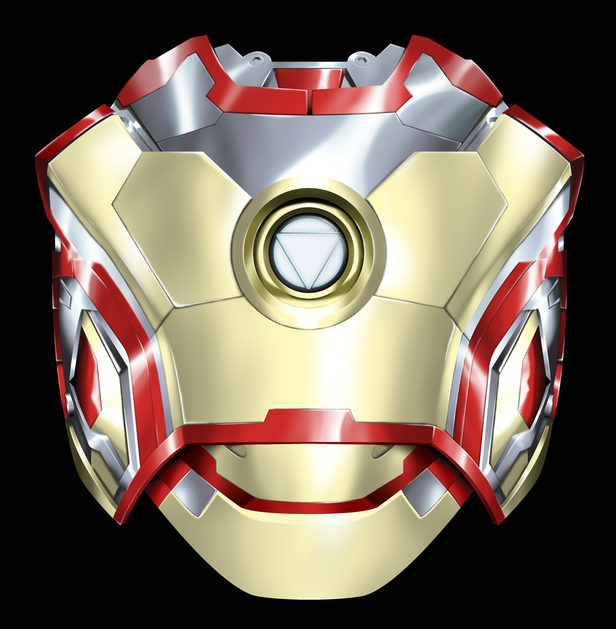 Iron Man Chest Plate A...