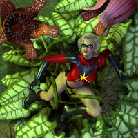 Botany with Ms Marvel by sturkwurk