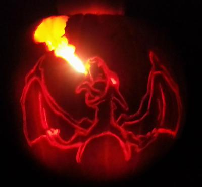 Charizard Pumpkin