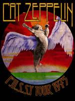 Cat Zeppelin T-shirt
