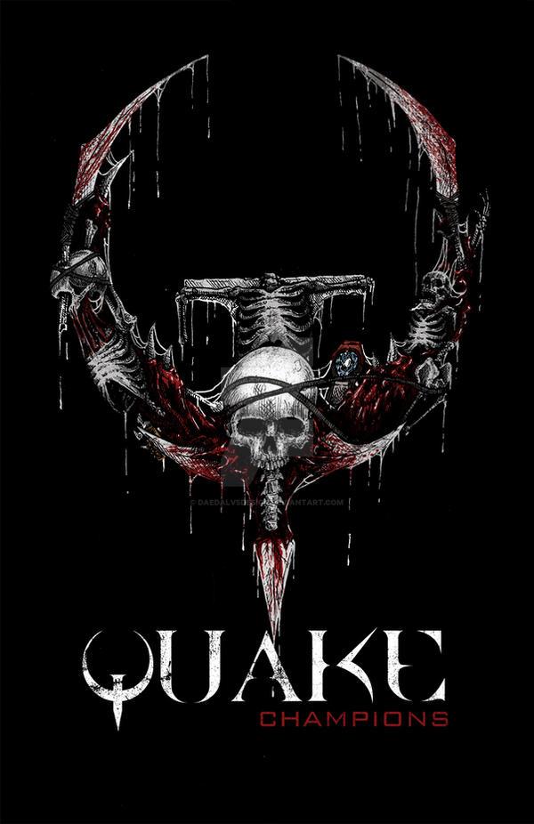 Quake Champions Logo By Daedalvsdesign On Deviantart