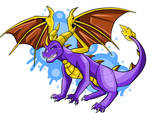 purple legend