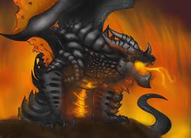 deathwing by werespyro