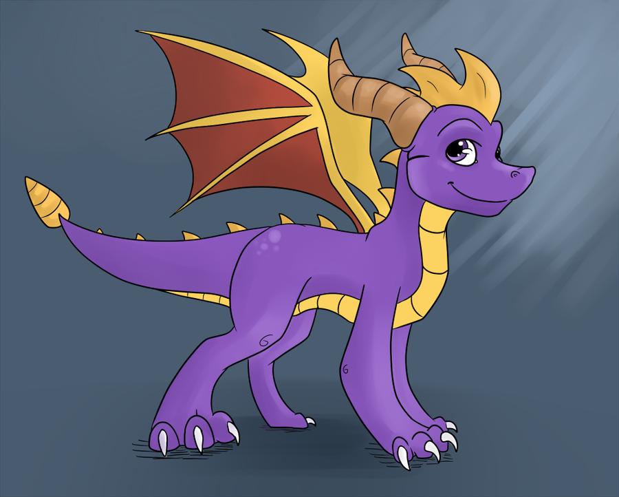 spyro the dragon by werespyro