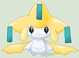 Pixel Pokemon - Jirachi by MoonIight-Eevee