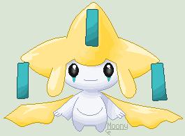 Pixel Pokemon - Jirachi by MoonIight-Eevee