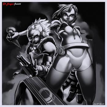 Plasma boy and Counter girl