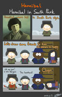 Hannibal in South Park by ZZ1114