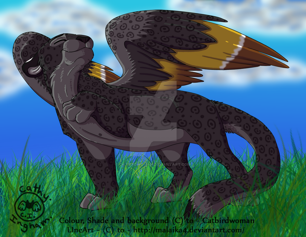 Catwing- Panther form- 1 of 3 by Catbirdwoman