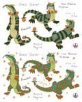 Grass-starter-Monabolt by Catbirdwoman