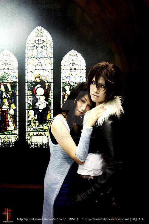 Squall and Rinoa by jaRoukaSama