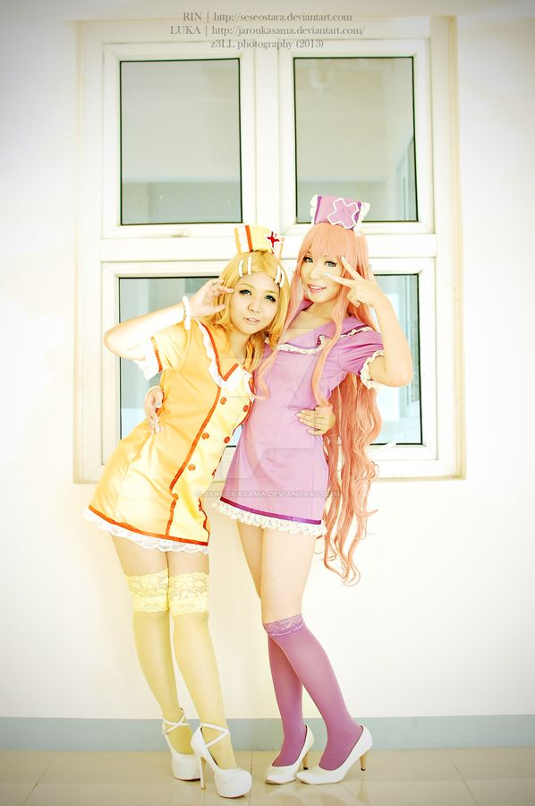 Loveward Rin and Luka by jaRoukaSama