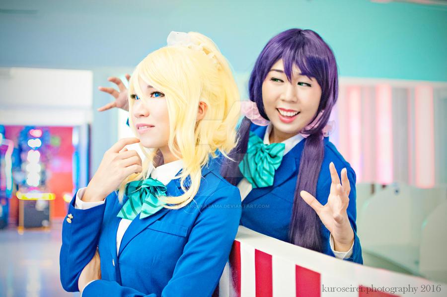 Nozomi x Eli by jaRoukaSama