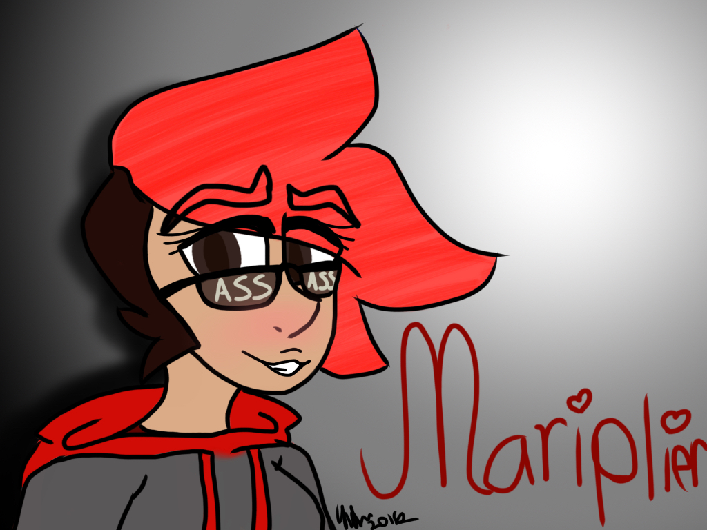 Mariplier (Girl Markiplier) by WiseKettle