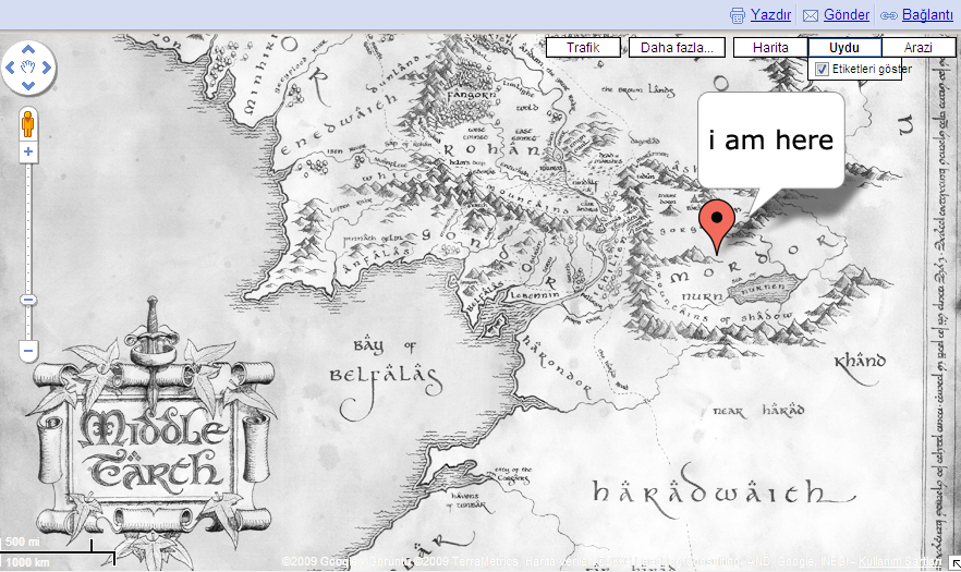 Google Middle Earth Maps by cihandikmen on DeviantArt
