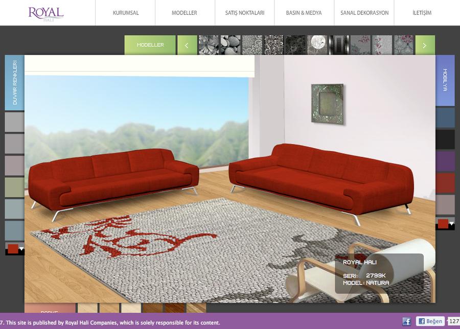 Royal hali virtual decorating by cihandikmen on deviantart for Virtual decorating