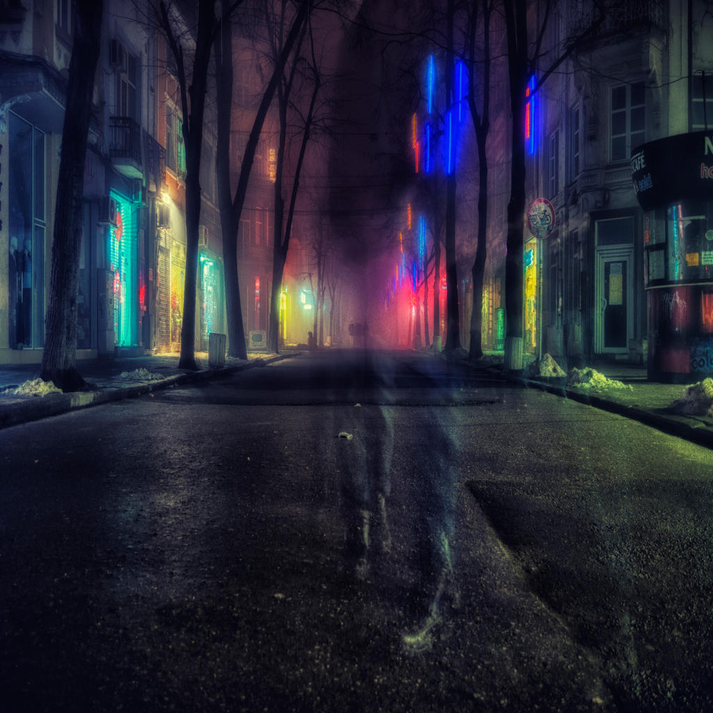 Stranger in the night by vladinarium