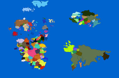 World map by tbool