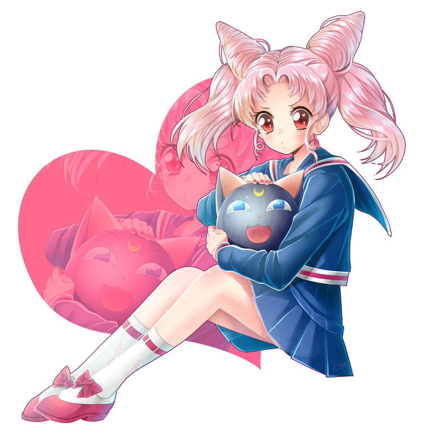 Chibiusa Sailor moon by ShineArtworks