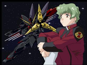 Gundam SEED GAT-X207 Blitz Gundam by willi-chan