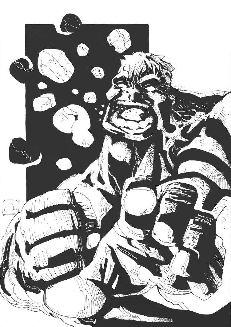The Hulk by dano-h