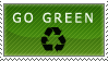 Go green - recycle by EvaStamp