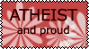Atheist and proud by EvaStamp