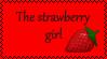 The strawberry girl by EvaStamp