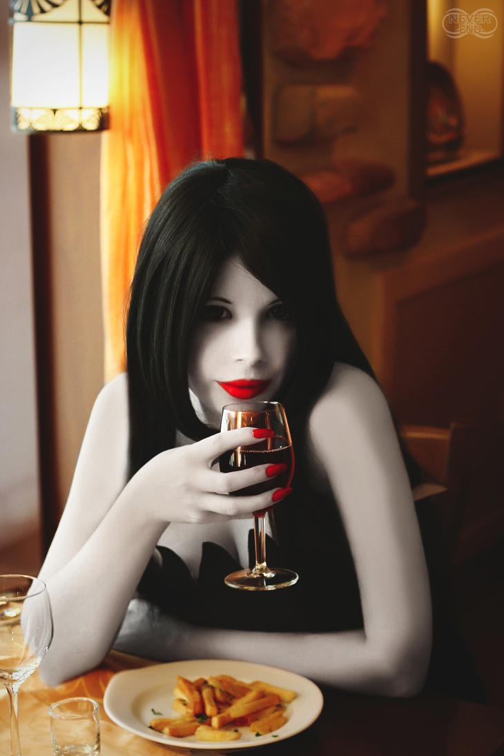 Marceline The Vampire Queen by famous-and-fabulous