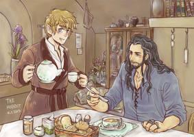 Thorin X Bilbo (3) by fox-trail