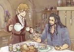 Thorin X Bilbo (3)