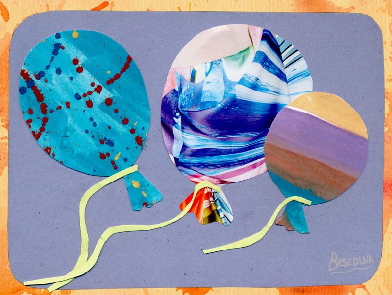Balloons by Besedina