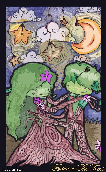 Tree Romance by ahndreya